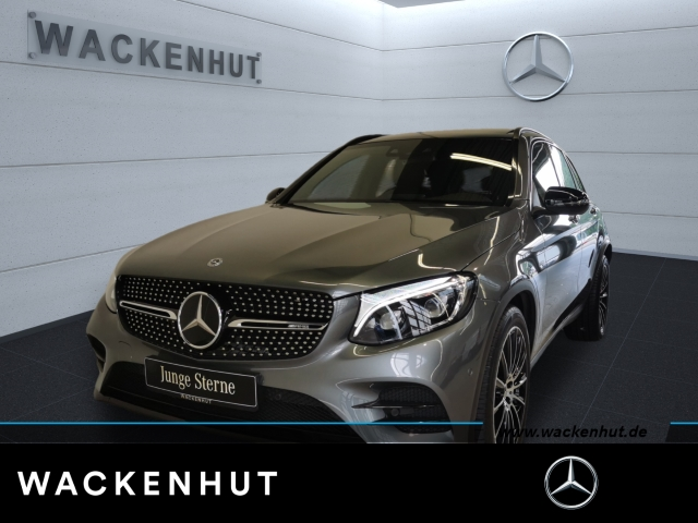 Mercedes-Benz GLC 43 AMG 4M NIGHT+PANO+ILS+DISTR+KAMER+VERK.AS, Jahr 2018, Benzin