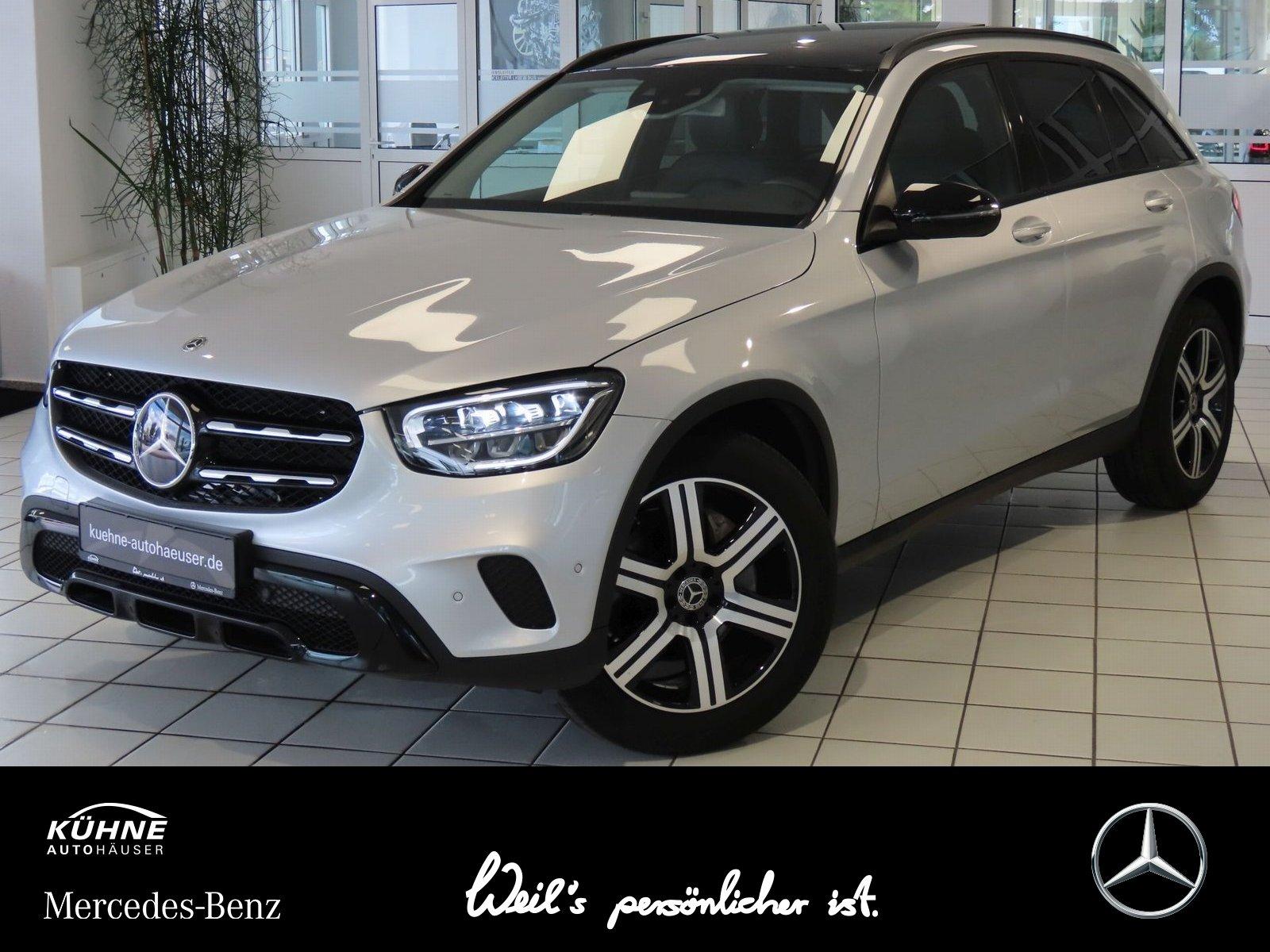 Mercedes-Benz GLC 200 d Night+Panorama+AHK+FahrAssistenzPaket, Jahr 2019, Diesel