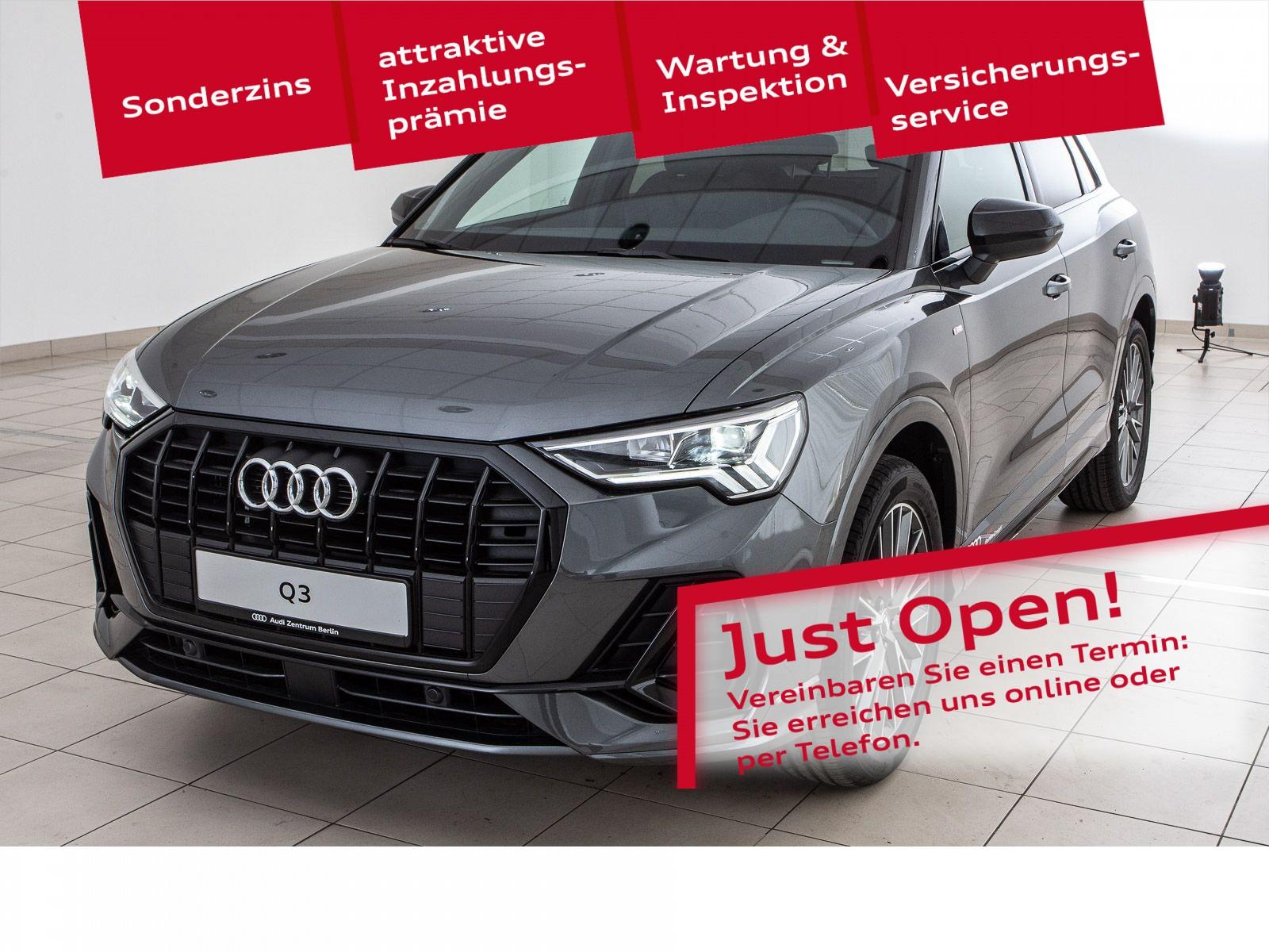 Audi Q3 S line 35 TFSI S tronic, Jahr 2021, Benzin