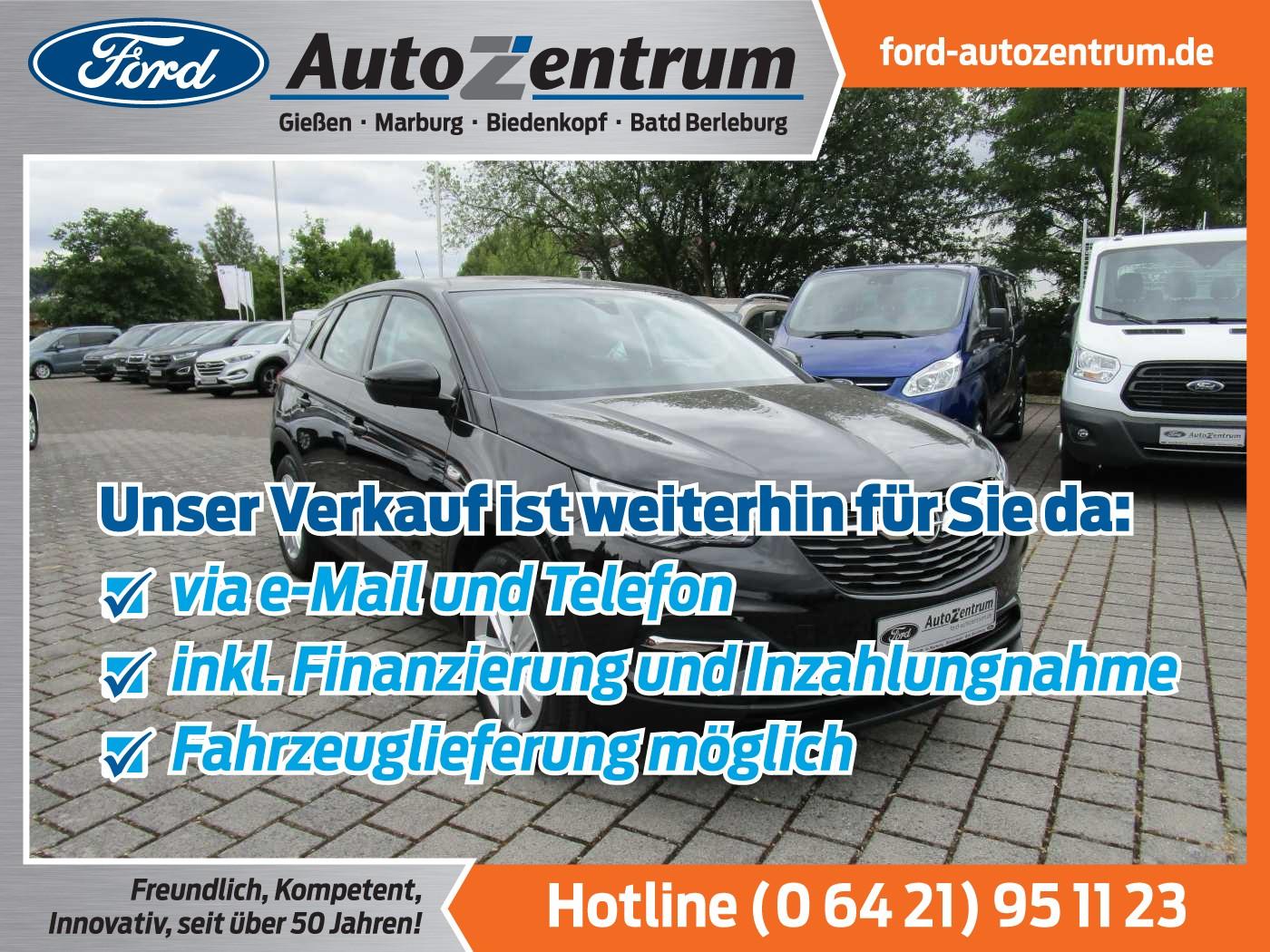 Opel Grandland X 1.2 Turbo Edition PDC/Klimaaut. hWSS, Jahr 2018, Benzin