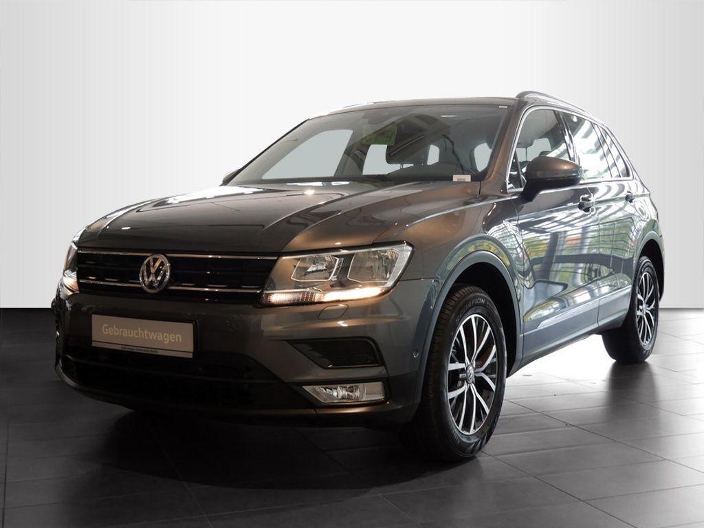 Volkswagen Tiguan 2.0TSI Comfortline 4x4 STHZG P-DACH, Jahr 2017, Benzin
