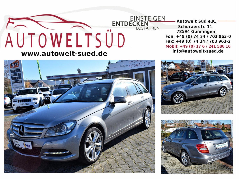 Mercedes-Benz C 220 CDI T 7G Avantgarde Comand ILS AHK Sch-D DVD-W, Jahr 2013, diesel