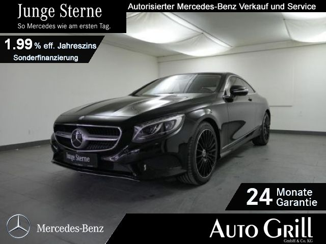 Mercedes-Benz S 500 4M Coupé Designo LED 360°Kam HeadUp PanoDa, Jahr 2014, Benzin