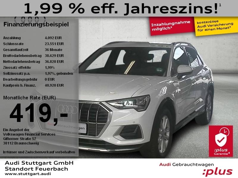Audi Q3 advanced 35 TDI S tronic, Jahr 2020, Diesel
