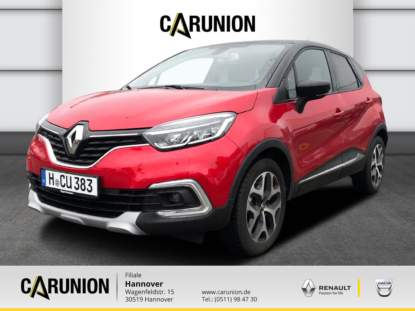 Renault Captur Collection TCe 130 GPF, Jahr 2019, Benzin
