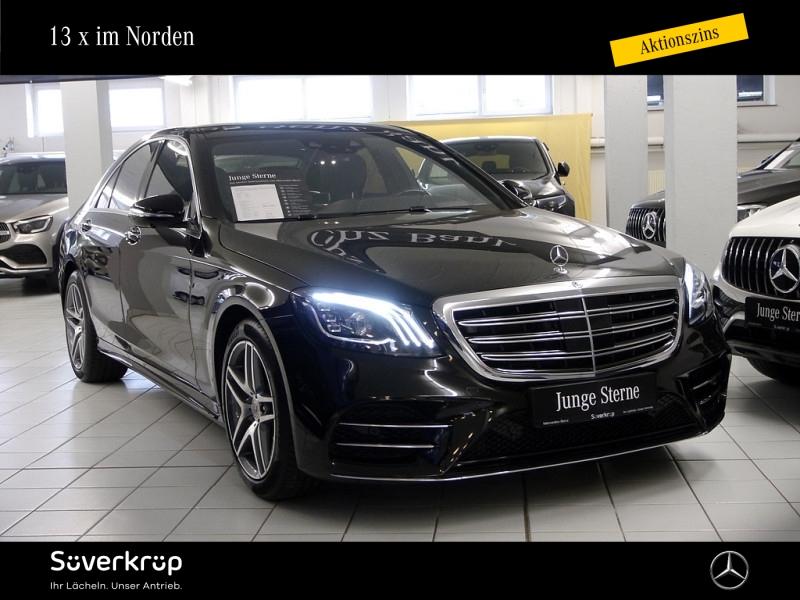 Mercedes-Benz S 560 4M AMG Sitzklima/Chauffeur/Fond-tv, Jahr 2020, Benzin
