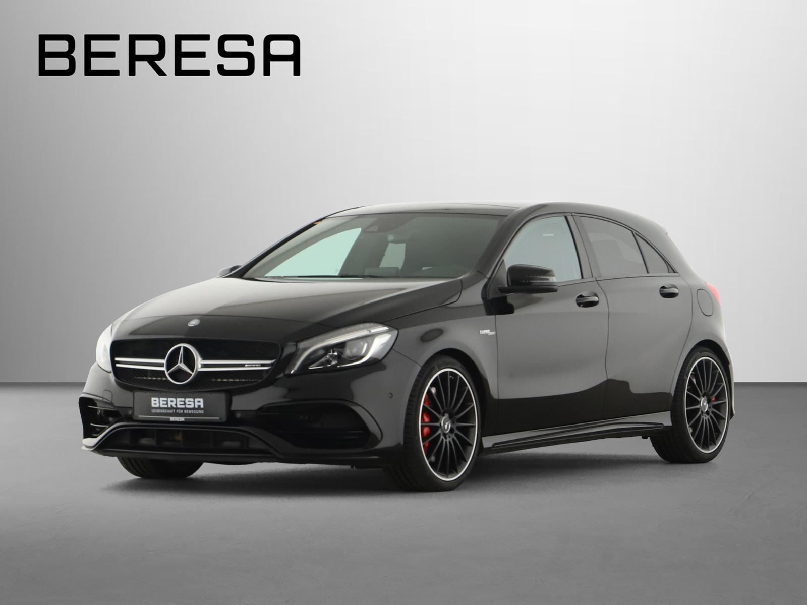 Mercedes-Benz A 45 AMG 4M Harman Designo Pano.-Dach LED Memory, Jahr 2016, Benzin