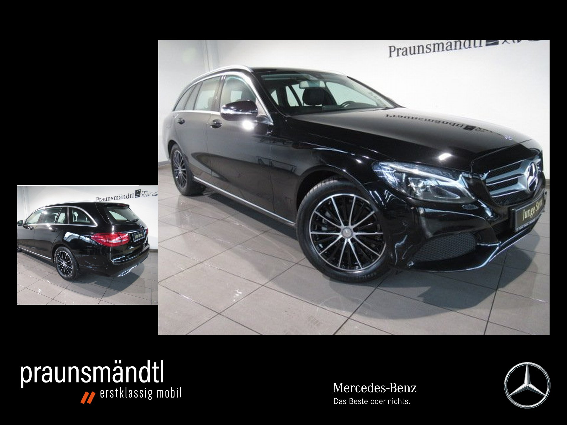 Mercedes-Benz C 200 T Avantgarde NAVI/PTS/Klima/LED High/SHZ, Jahr 2014, Benzin