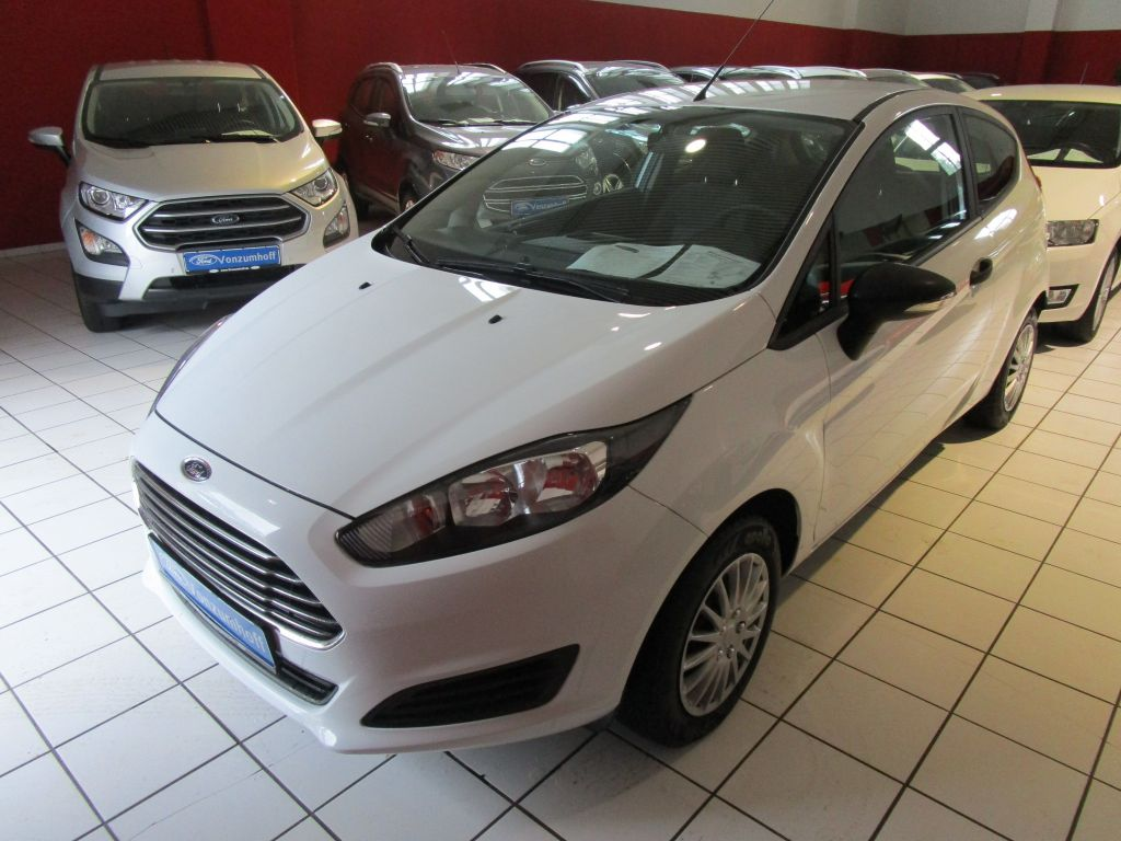 Ford Fiesta 1.25 Ambiente, Jahr 2013, Benzin