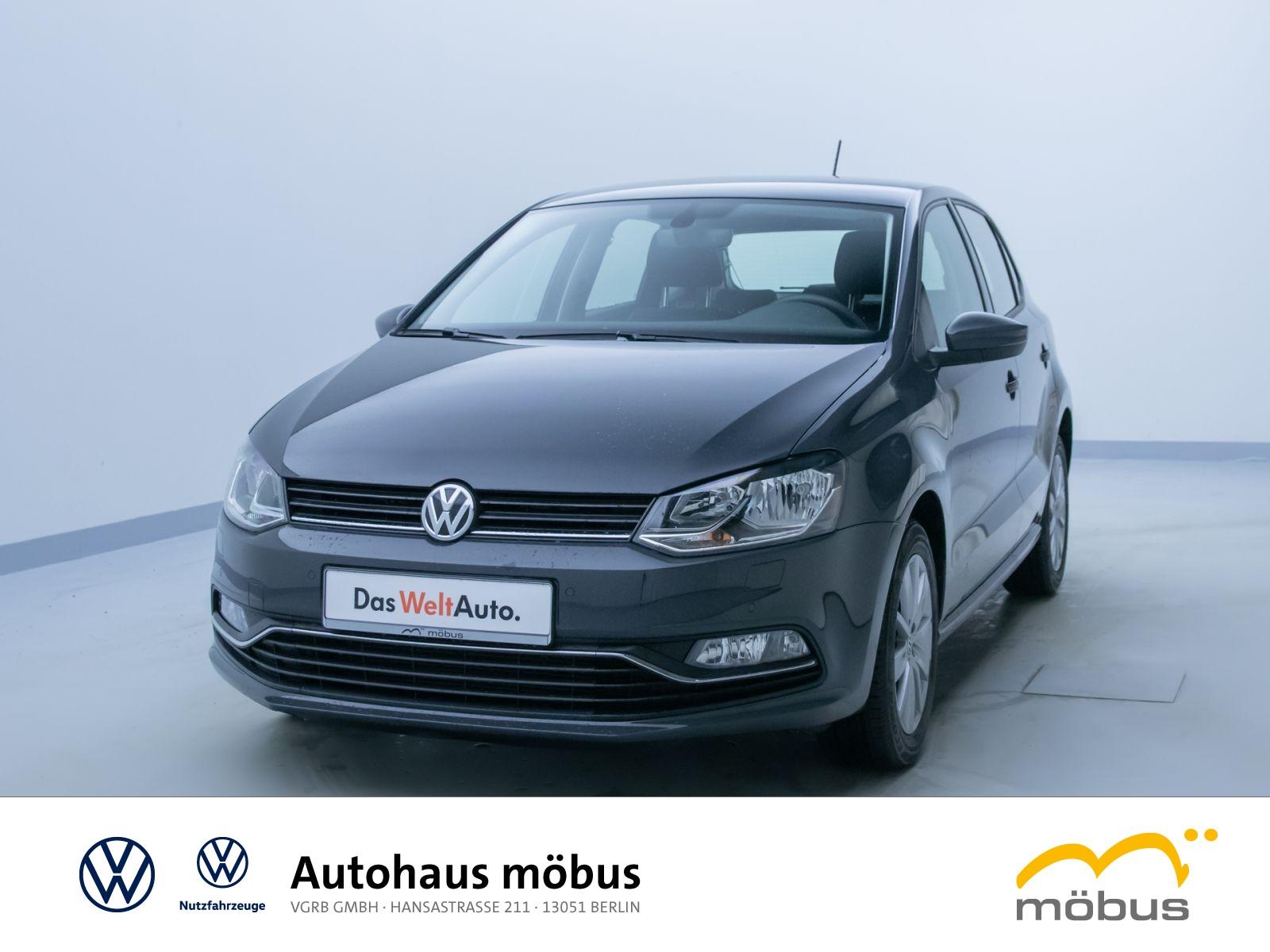 Volkswagen POLO 1.0 COMFORTL*GRA*USB*NAVI*SITZHZ*PDC*KLIMA*, Jahr 2017, Benzin