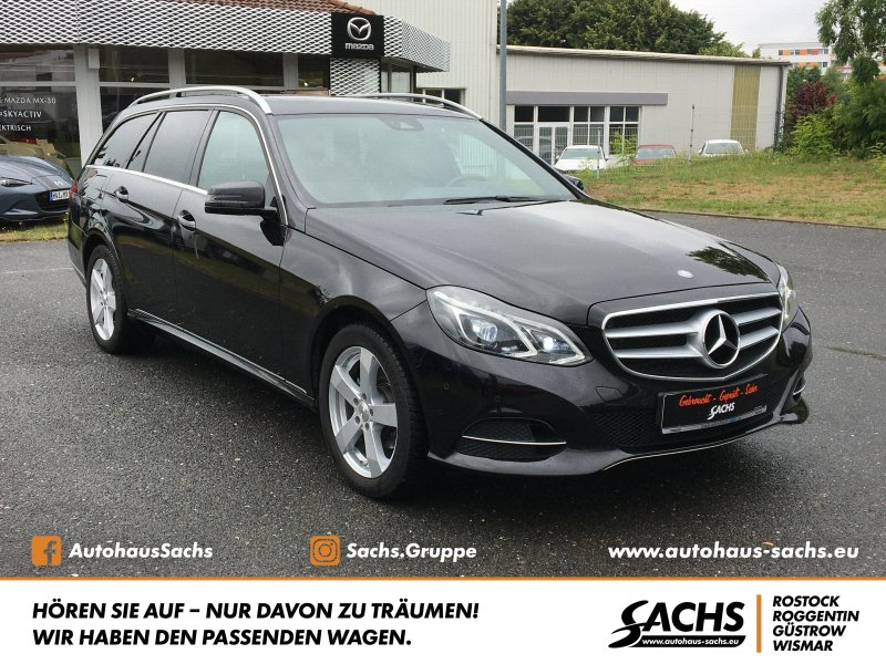 Mercedes-Benz E220d T-Modell Avantgarde, Jahr 2017, Diesel