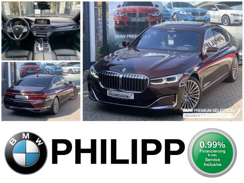 BMW 745e iPerformance LEAab 999,-B&W Massage TV-Fond, Jahr 2019, Hybrid