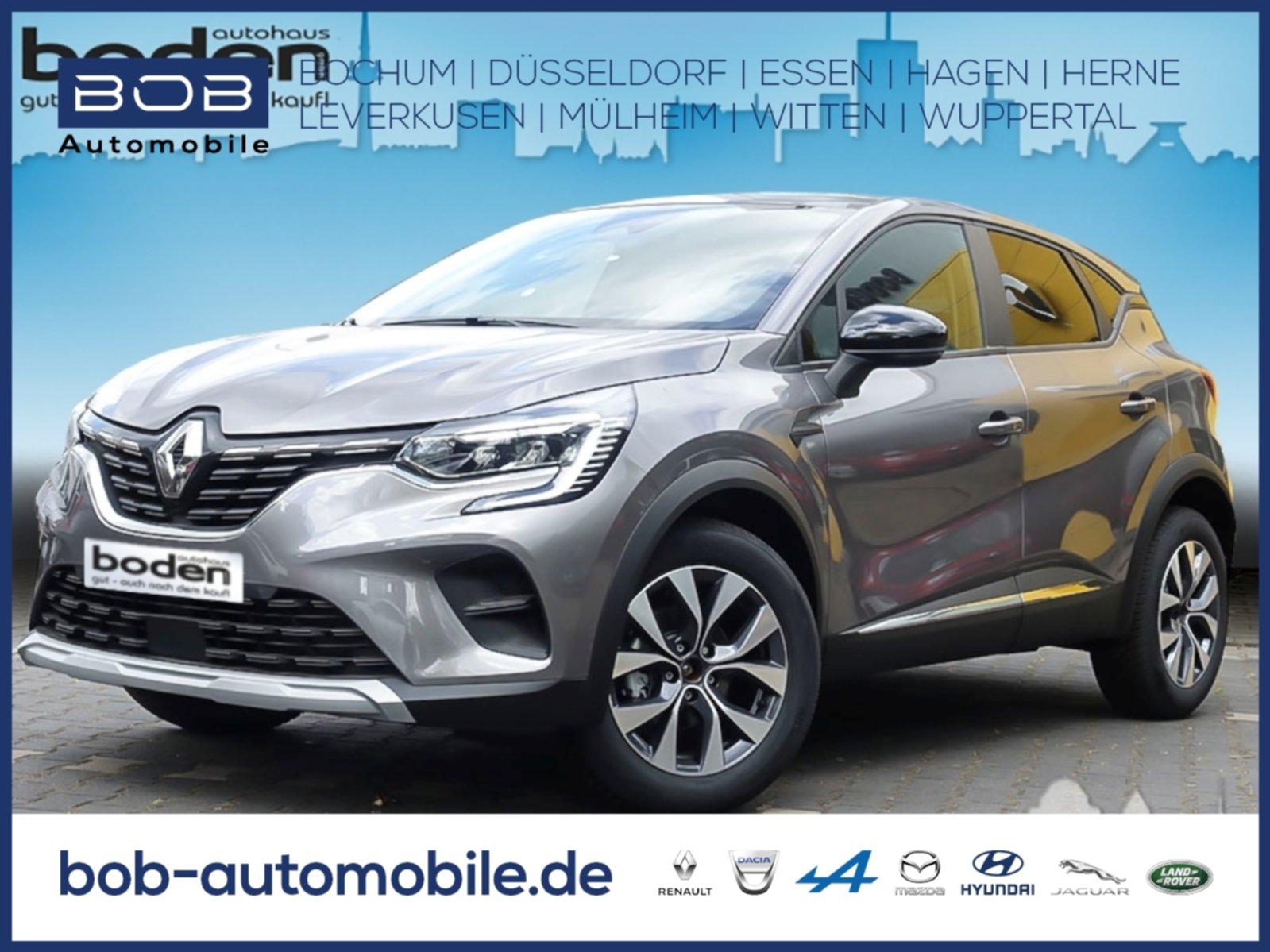 Renault Captur EXPERIENCE TCe 100 NAVI SHZ PDC, Jahr 2020, Benzin