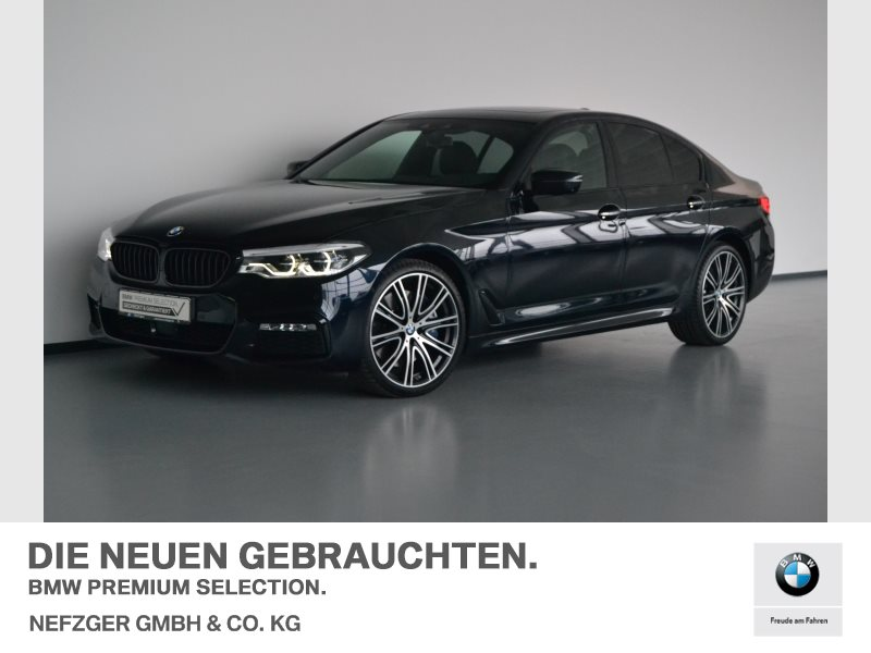 BMW 540i xDrive Limousine M Sportpaket Head-Up LED, Jahr 2017, petrol