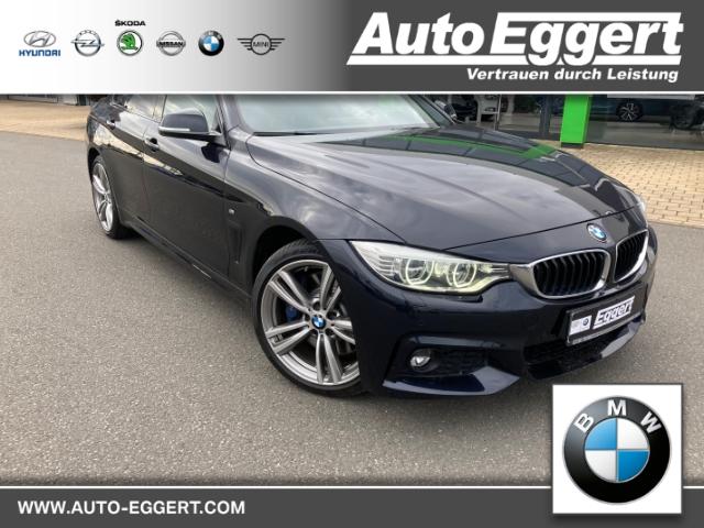 BMW 428 Gran Coupe i xDrive M-Sportpaket Leder LED Navi Keyless Kurvenlicht e-Sitze HUD Allrad, Jahr 2014, Benzin