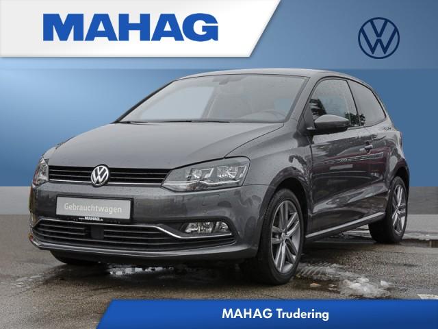 Volkswagen Polo 1.2 TSI BMT Allstar Rückfahr/NAvi/Sitzhzg/LED/MFA 5 Gang, Jahr 2016, Benzin