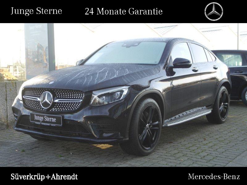 Mercedes-Benz GLC 350 d 4M Coupé AMG Line Night Distronic Head, Jahr 2016, diesel