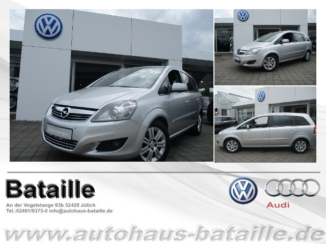 Opel Zafira 1.6 Family Plus ecoFlex, Jahr 2012, Benzin