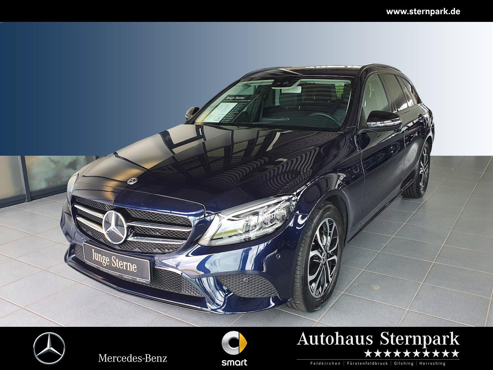 Mercedes-Benz C 220 d T Avantgarde +Comand+AHK+LED+Night+Spur+, Jahr 2019, Diesel