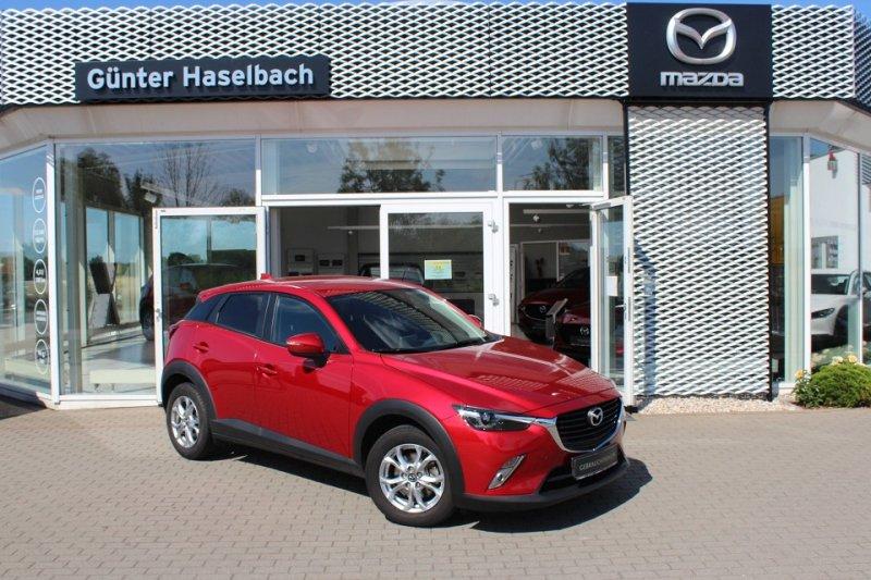 Mazda CX-3 EXCLUSIVE Klimaautomatik*Sitzheizg*Einparkhilfe*1.Hand, Jahr 2015, Benzin