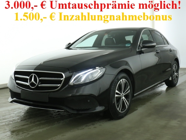 Mercedes-Benz E 200 Avantgarde+Navi+Kamera+Media-Display+Totwi., Jahr 2020, Benzin