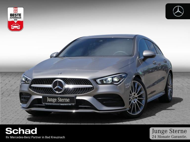 Mercedes-Benz CLA 220 Shooting Brake AMG+LED+Kamera+PDC, Jahr 2019, Benzin