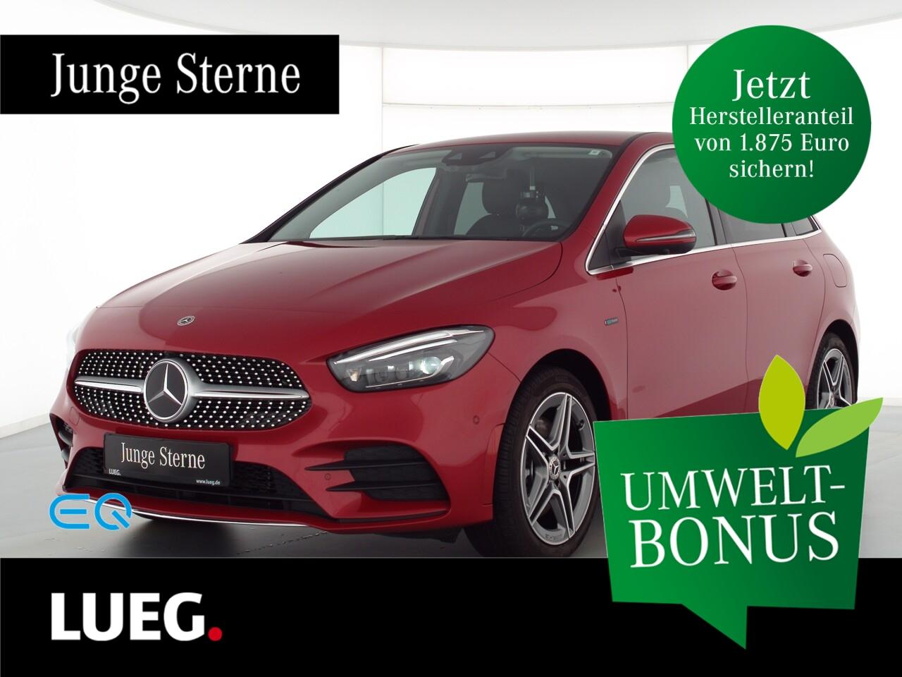 Mercedes-Benz B 250 e AMG+MBUXHighE+Mbeam+AHK+Distr+Sound+360°, Jahr 2020, Hybrid