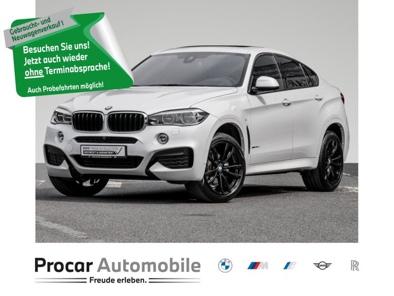 BMW X6 xDrive30d 50 JAHRE BMW BANK AKTION AB 0,01% FINANZIERUNG!!, Jahr 2019, Diesel