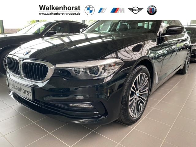 BMW 540 i Sport Line Dynamische Dämpfer Leder AHK RFK, Jahr 2018, Benzin