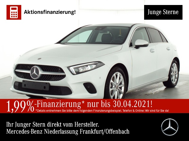 Mercedes-Benz A 180 Progressive Navi Premium LED Kamera PTS Temp, Jahr 2020, Benzin