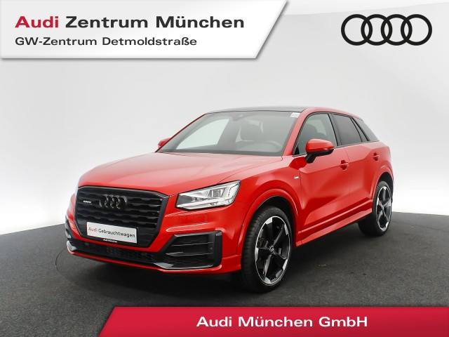 "Audi Q2 2.0 TDI qu. Sport S line LED Virtual Pano Assistenz Leder Navi R-Kamera 19"" S tronic, Jahr 2017, diesel"