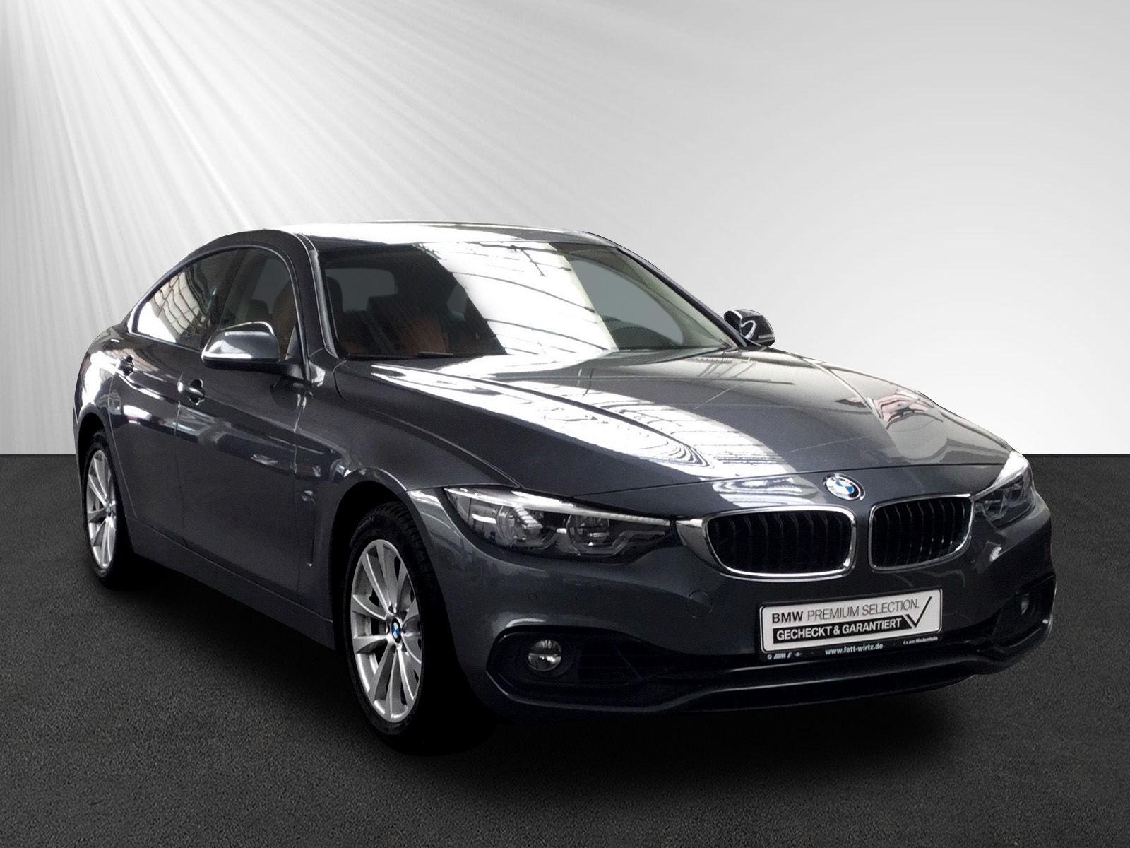 BMW 440i xDrive Gran Coupe SportLine NaviPr HUD LED, Jahr 2018, petrol