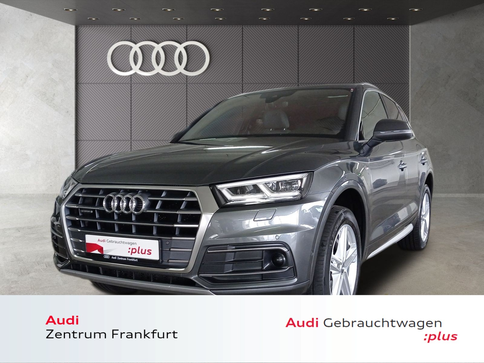 Audi Q5 40 TDI quattro S tronic S line Matrix-LED Pano DAB, Jahr 2019, Diesel