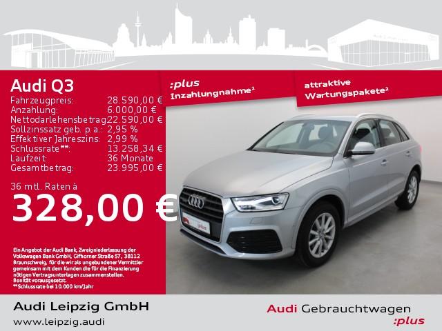 Audi Q3 2.0 TDI quattro sport S-tronic *Navi*Xenon*, Jahr 2018, Diesel