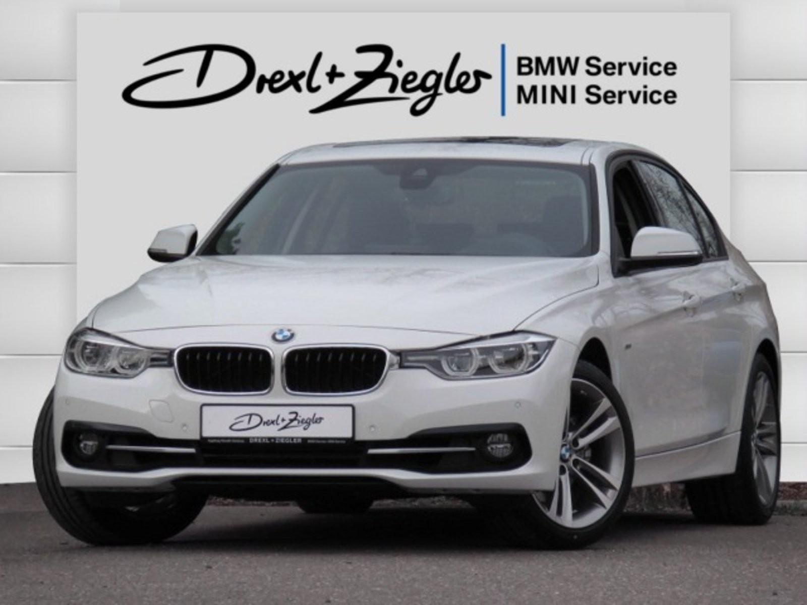 BMW 325d Limousine Sport Line LED HUD Galsdach Alu18, Jahr 2017, Diesel