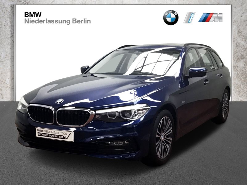 BMW 520i Tour. EU6 Aut. Leder NaviProf. GSD Head-Up, Jahr 2017, Benzin