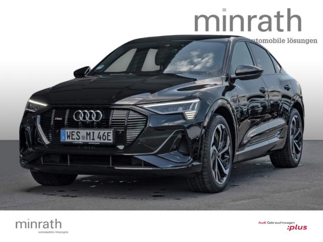 Audi e-tron Sportback S line 55 quattro 300 kW, Jahr 2021, Elektro