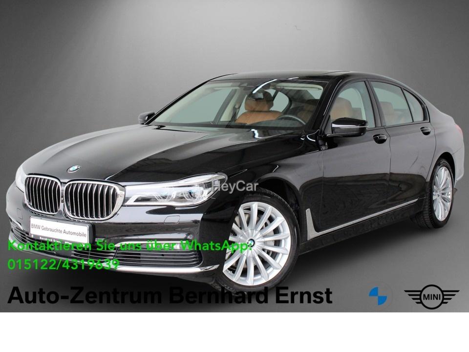 BMW 740d xDrive Limousine HuD GSD RFK Sitzbelueftg, Jahr 2017, Diesel