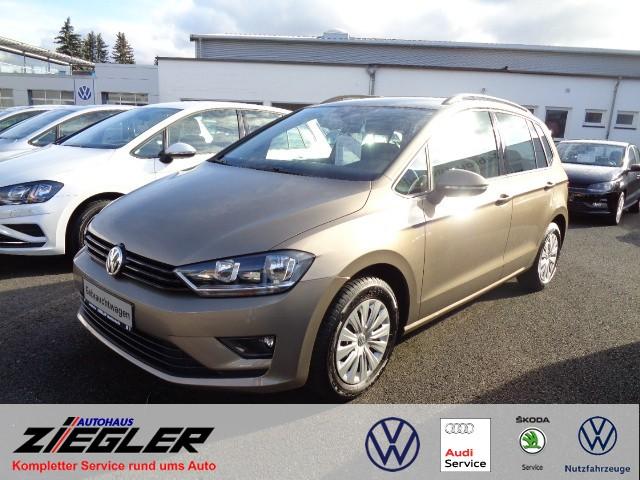 Volkswagen Golf Sportsvan 1,6l TDI Trendline Klima, Jahr 2015, Diesel