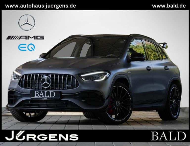 Mercedes-Benz AMG GLA 45 S 4M+ AMG+Pano+Schalensitze, Jahr 2020, Benzin