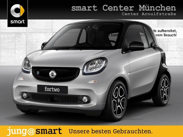 smart fortwo coupé 60kWed prime cool&Media SHZ Pano LED, Jahr 2018, Elektro