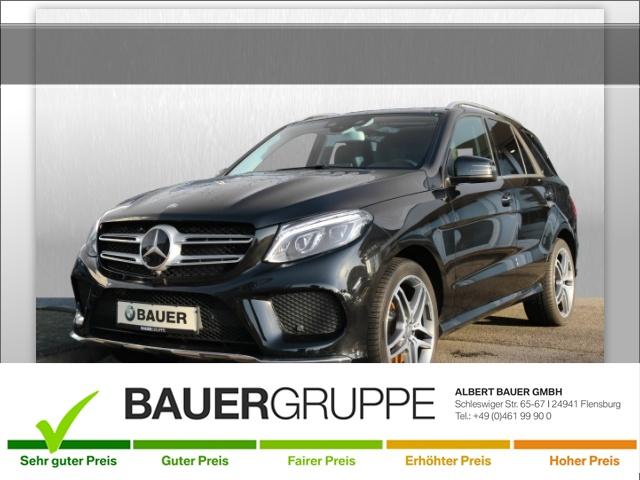 Mercedes-Benz GLE 500 AMG Line 4Matic Sportpaket Bluetooth Navi, Jahr 2017, petrol