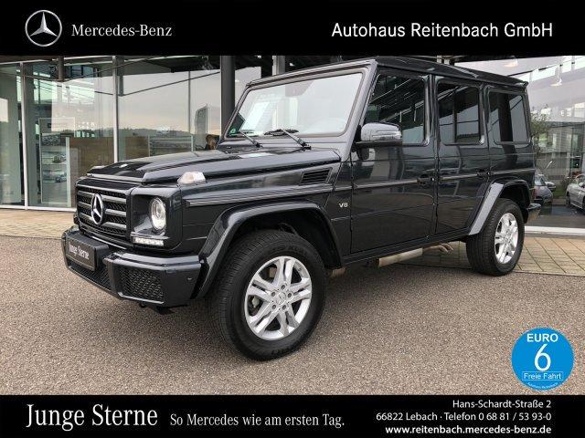 Mercedes-Benz G 500 COMAND+AHK+KAMERA +XENON+PTS+KLIMA+TEMPOM, Jahr 2017, petrol