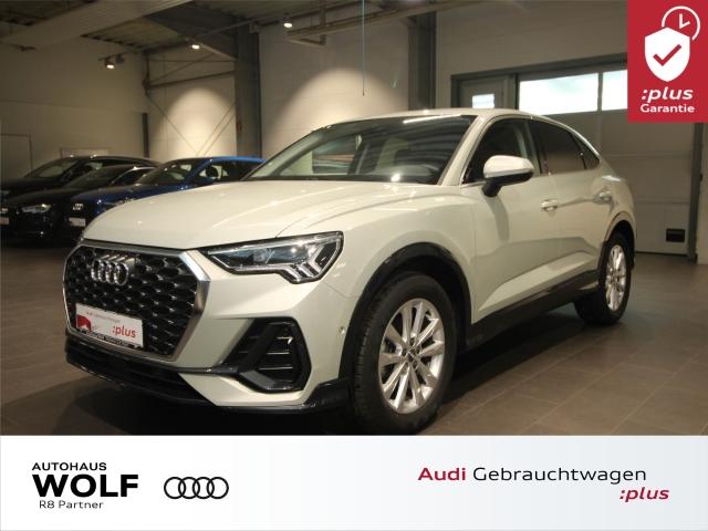 Audi Q3 Sportback 35 TFSI LED Navi DAB AHK, Jahr 2019, Benzin