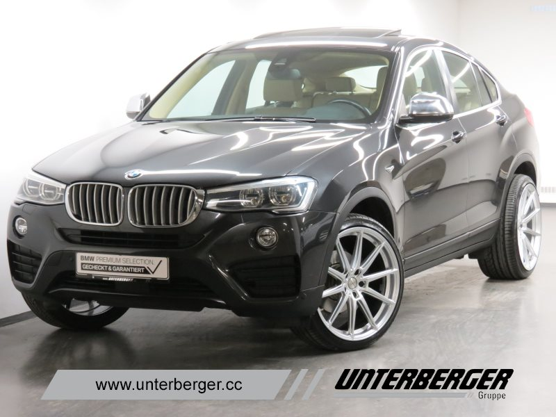 BMW X4 xDrive30d Head-Up HiFi DAB LED Standhzg. GSD, Jahr 2015, Diesel