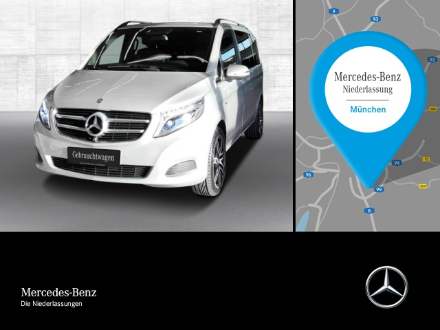 Mercedes-Benz V 250 d 4M AVANTGARDE EDIT. Kompakt AHK Standhzg, Jahr 2016, Diesel