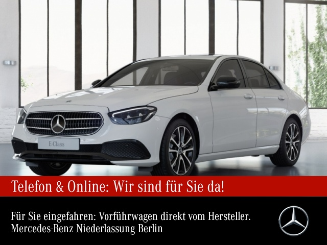 Mercedes-Benz E 200 Avantgarde WideScreen SHD LED Night Kamera, Jahr 2021, Benzin