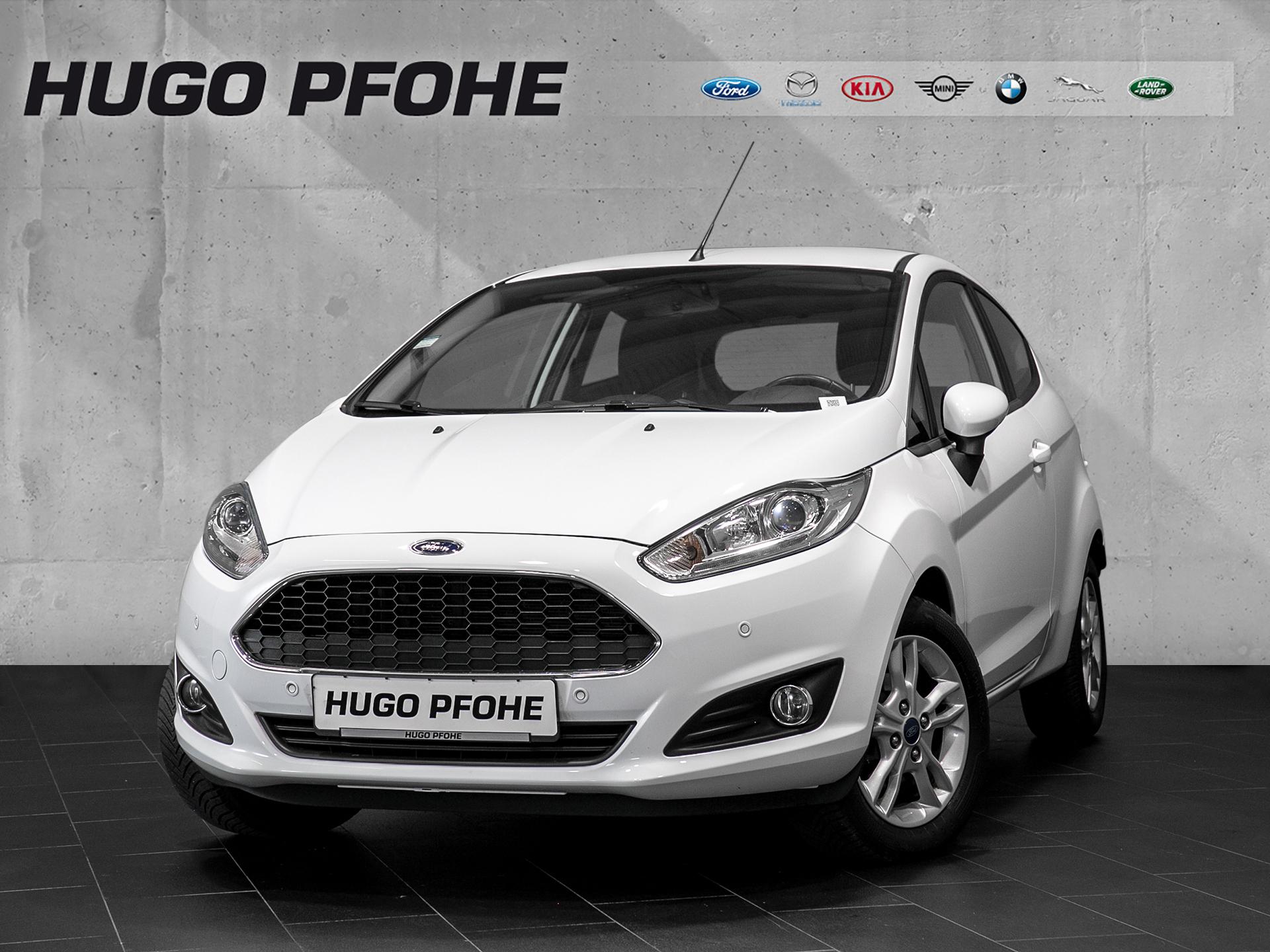 Ford Fiesta Celebration *White Edition*, Jahr 2017, Benzin