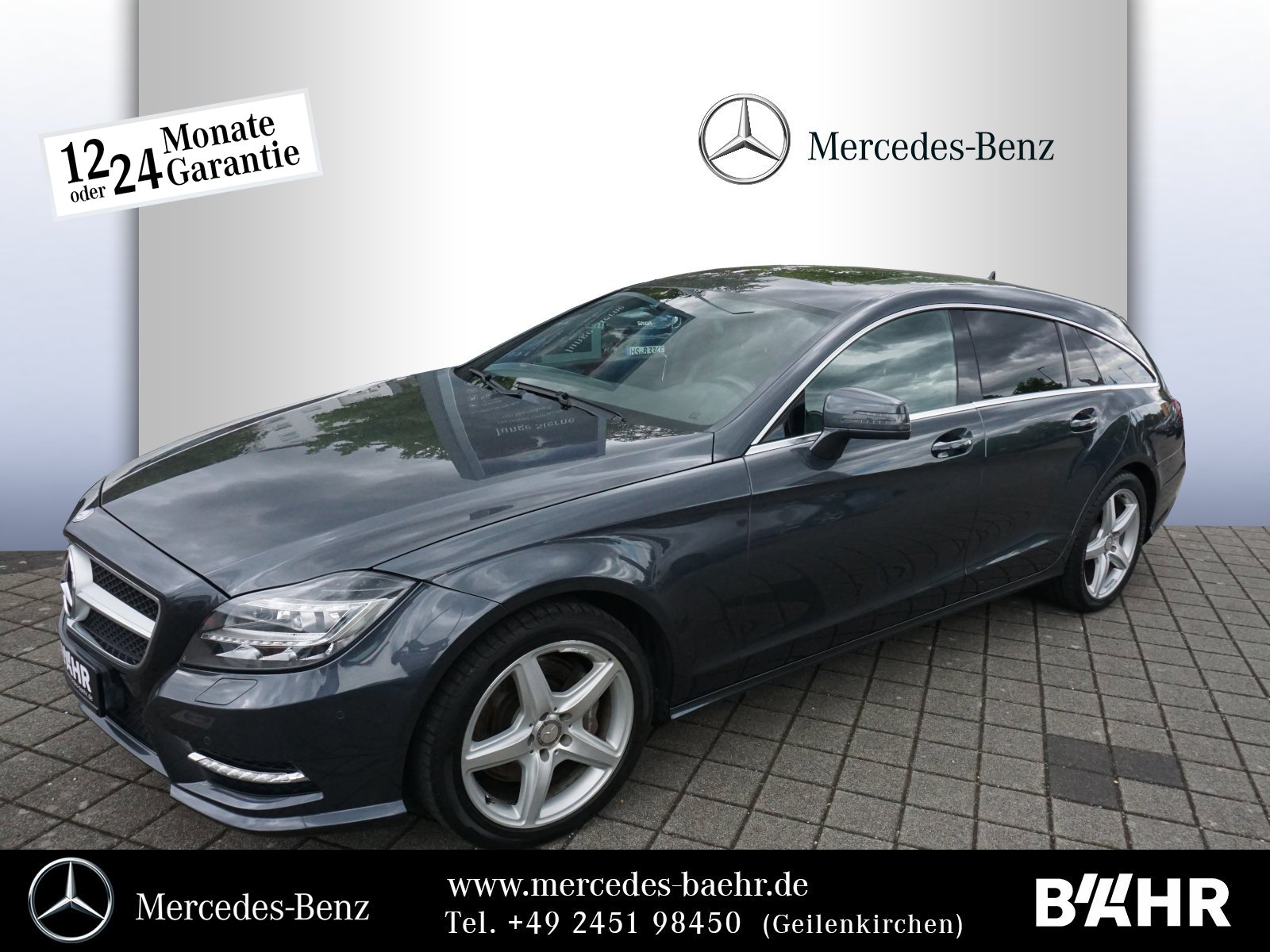 "Mercedes-Benz CLS 350 CDI 4M SB AMG/Comand/ILS/AHK/RFK/LMR-18"", Jahr 2013, diesel"