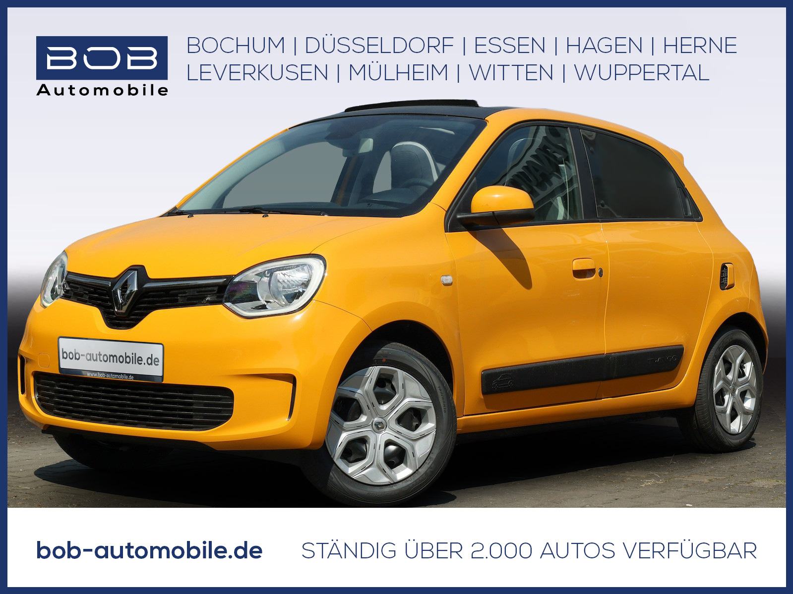 Renault Twingo LIMITED SCe 65 elektr. Faltdach SHZ PDC, Jahr 2021, Benzin